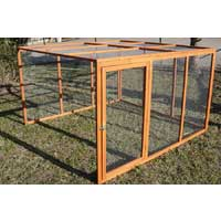 Huge Chicken Coop Extension Run - For Premium Chicken Coop