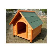 Small Wooden Dog Kennel Classic