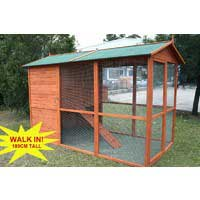 Giant Walk In Castle Chicken Coop