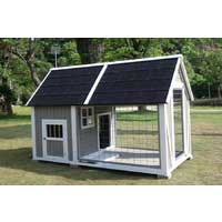 Manor Deluxe Wooden Dog Kennel