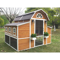 The Grand Barn Walk In Chicken Coop